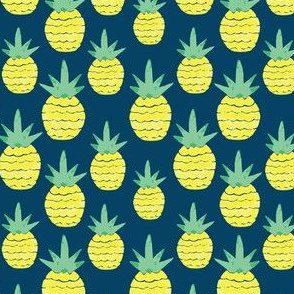 Blue Pineapple small