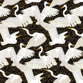 Herons Art Deco