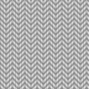Vintage Gray Chevron Pattern (Micro Scale)