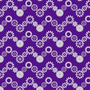 Robot coordinates - cog chevron - purple