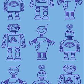 Robot coordinates - bit bots - blue