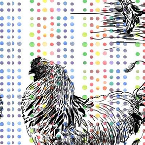 Modern rooster