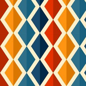 Retro rhombs
