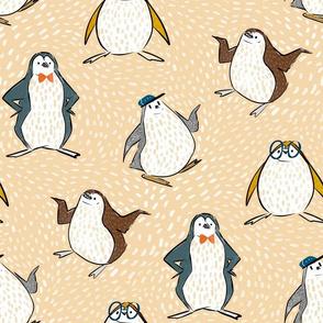 penguins shminguins beige