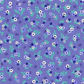 Hand-drawn dots rows terracotta orange Wallpaper Fabric