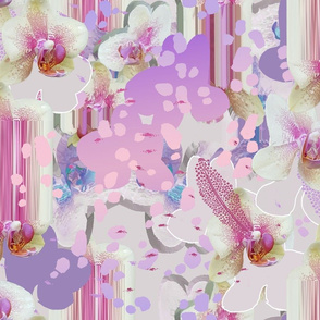 Pastel Orchid Glitch