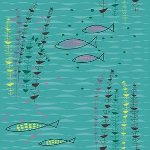 Under the Sea Aqua