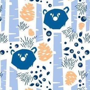 Nordic Bear Blue