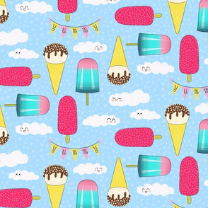 Ice Cream  Summer Days