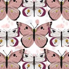 Butterflies - Purple