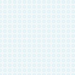 24023 Pale Blue Snowflakes