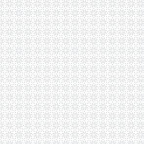 24023 Gray Snowflake Pattern