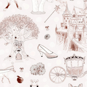 Once Upon A Time (Monochromatic Pale Pink)