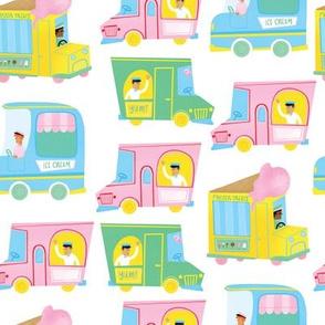 Retro Ice Cream Trucks