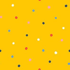 Mixed Dots Yellow