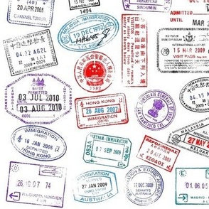 World Passport Stamps 2