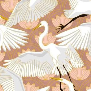 Herons Art Deco-Rose Quartz v2