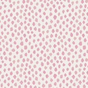 Large PINK spots anne under copy