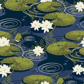 Lily Pond-Darker