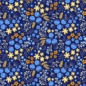 Maryam Garden-Ocean Blue