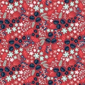 Maryam Garden-Scarlet