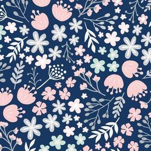 Maryam Garden-Soft Blue