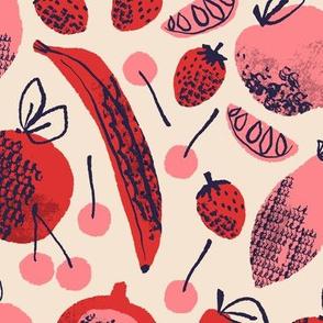 Summer Fruits ~ Poppy & Pink
