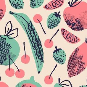 Summer Fruits ~ Retro