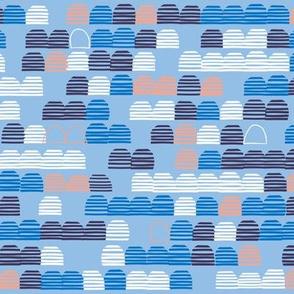 Edgy Stripe Row