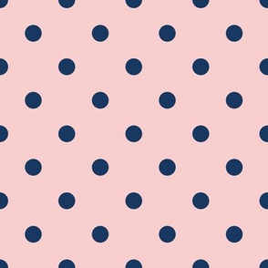 Pastel Pink and Blue Dots