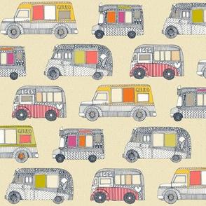 ice cream trucks small