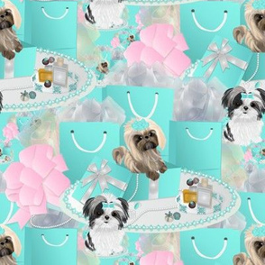 Shih tzu - A tiffany shopping spree