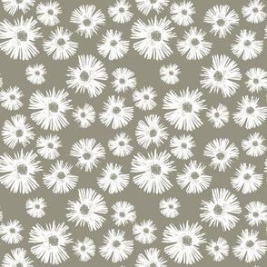 Paper Daisy - Sage