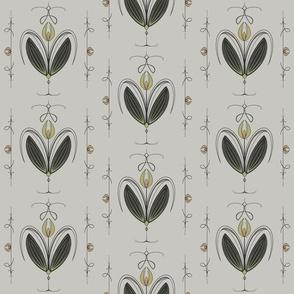 Tulip Nouveau - Soft Grey