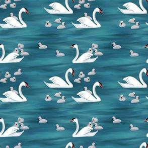 The Lake Swans