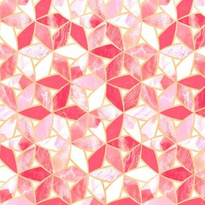 Blush Pink Marble Mosaic (Small Version)