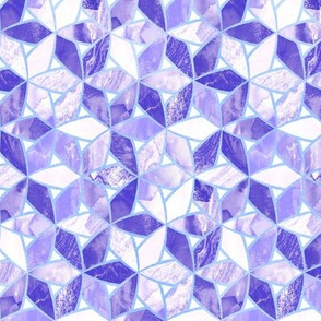 Purple Marble Mosaic (Small Version)