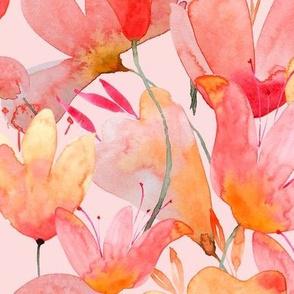 Flowers Choir Pink L