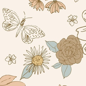 Daffodil Peach JUMBO