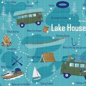 Lake House Map