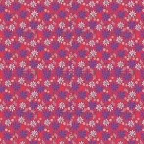 Teardrop Whimsical Flowers