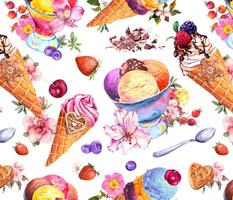 Sweet summer, watercolor
