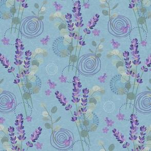 Aromatherapy-Lavender & Eucalyptus