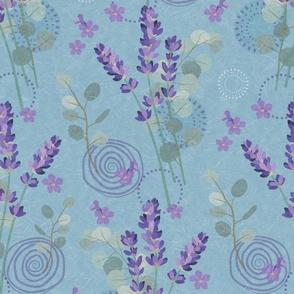 Aromatherapy-Lavender & Eucalyptus-L
