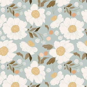 Apricot Blossoms- 5.25x5.25