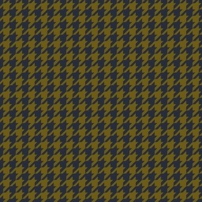 Classic Houndstooth in Navy and OlivePaducaru