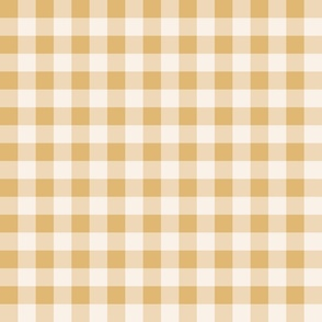 Honey Gingham-2x2