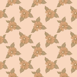 Peachy Pink florals-2.67x2.67