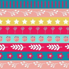 Maryam Stripes - Bubblegum