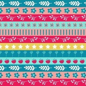 Maryam Stripes - Lollipop